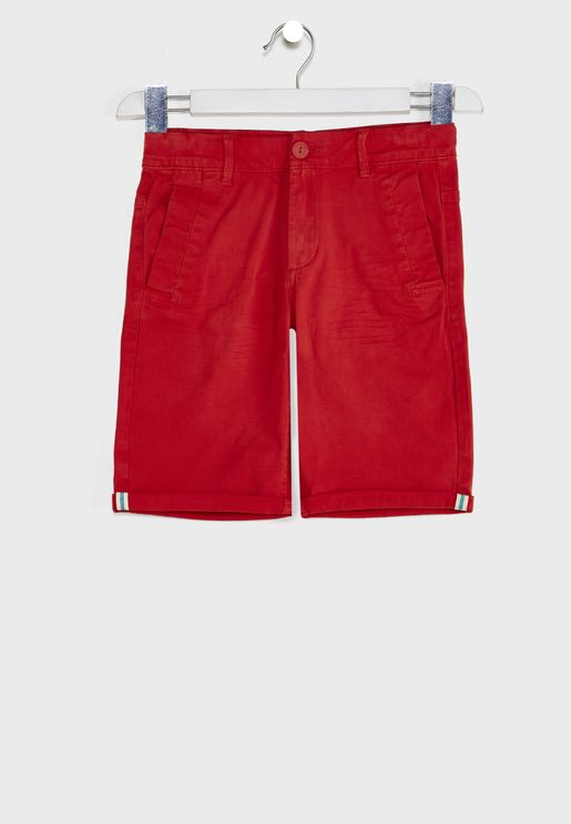 Youth Essential Chino Shorts
