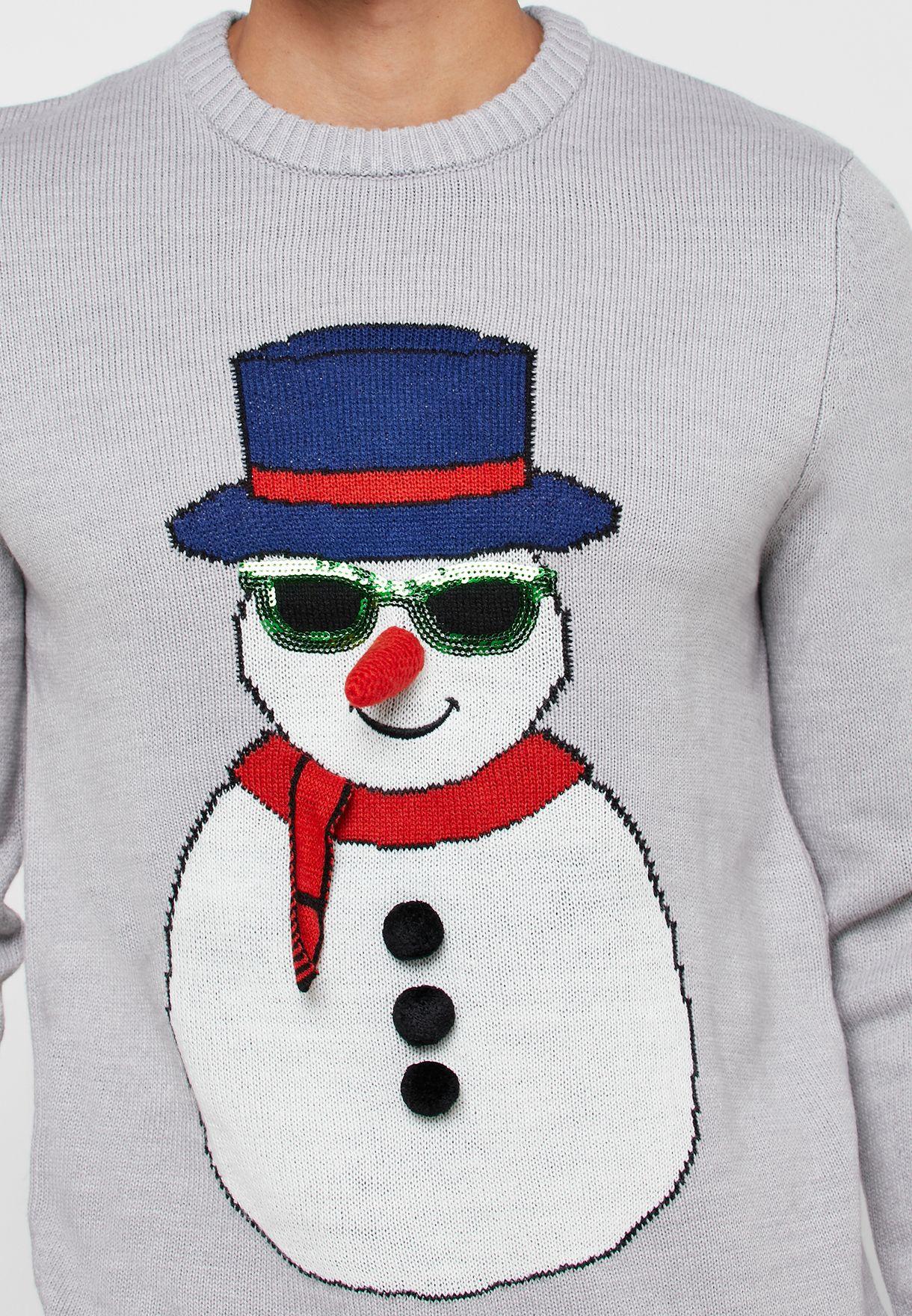 Christmas Snowman Sweater