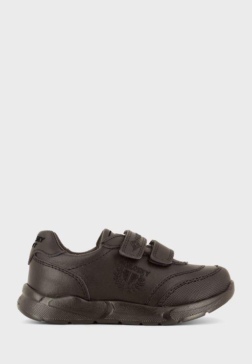 Youth Double Strap Velcro Sneaker