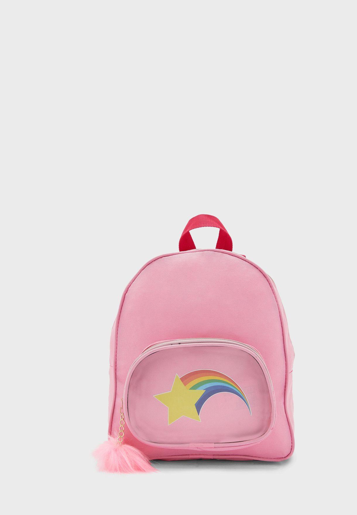 Kids Star Print Backpack