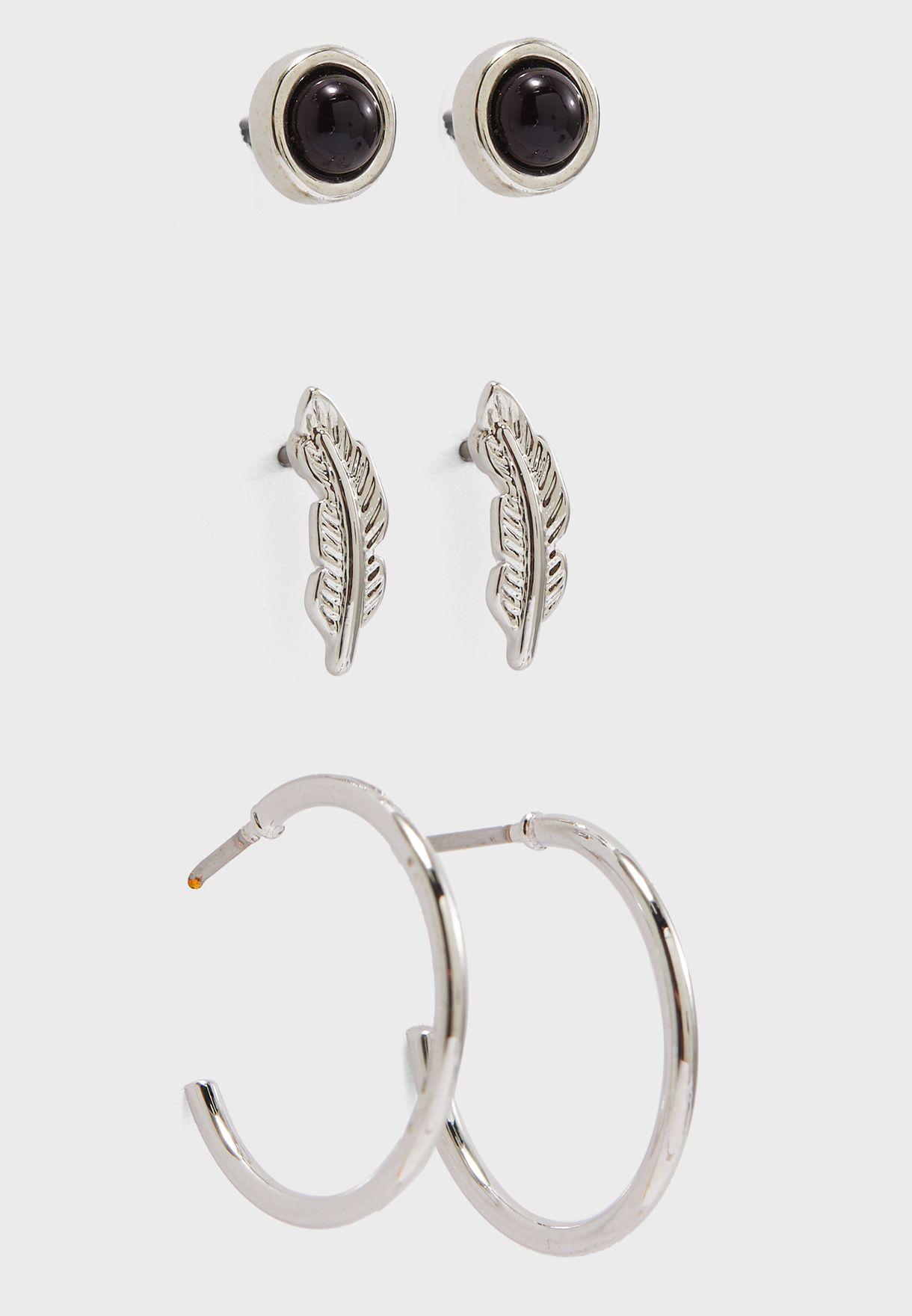 3 Pack Cilja Earrings