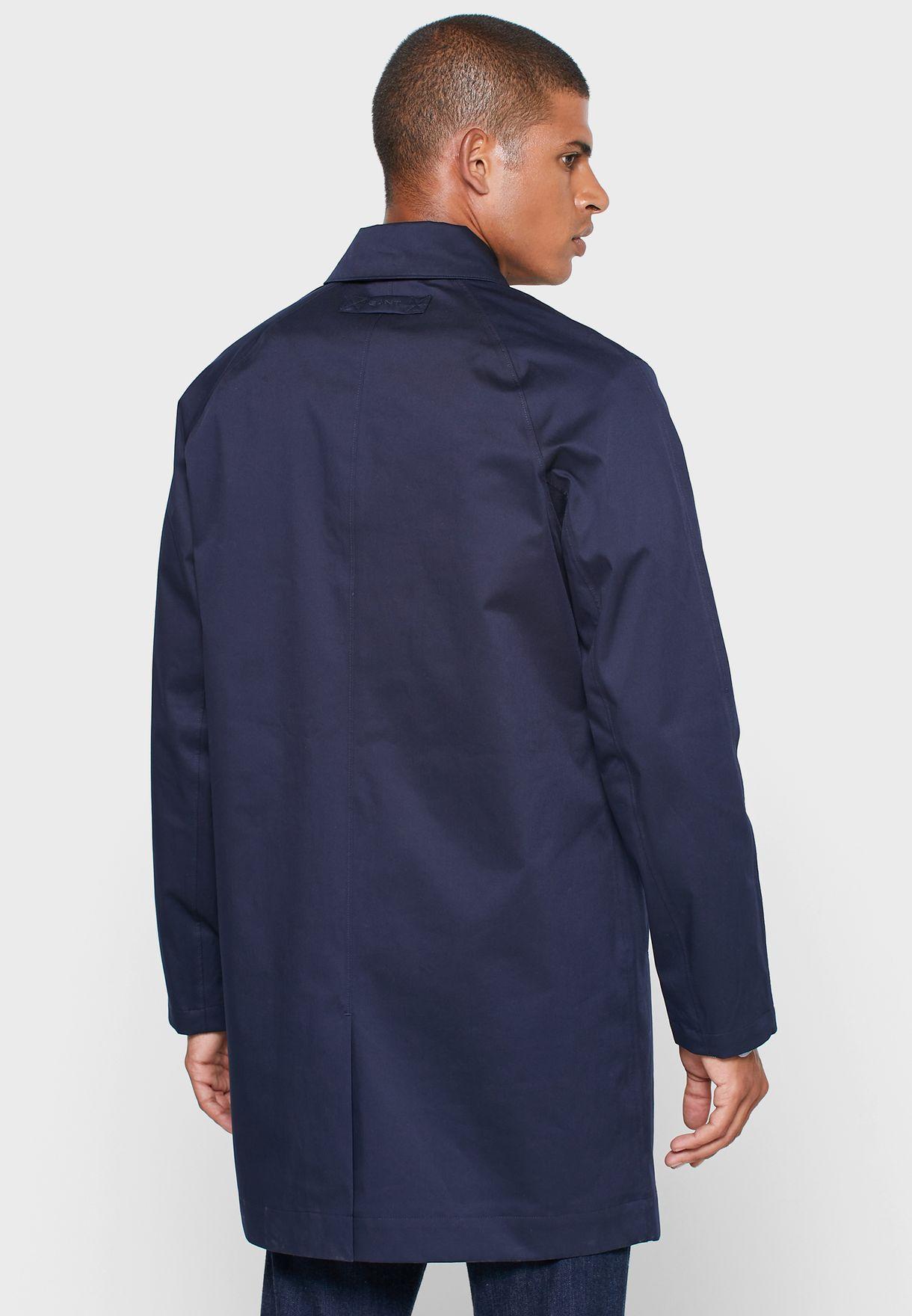 معطف طويل مقاوم للماء