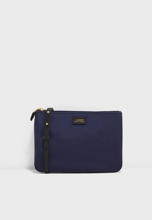 Double Zip Through Crossbody