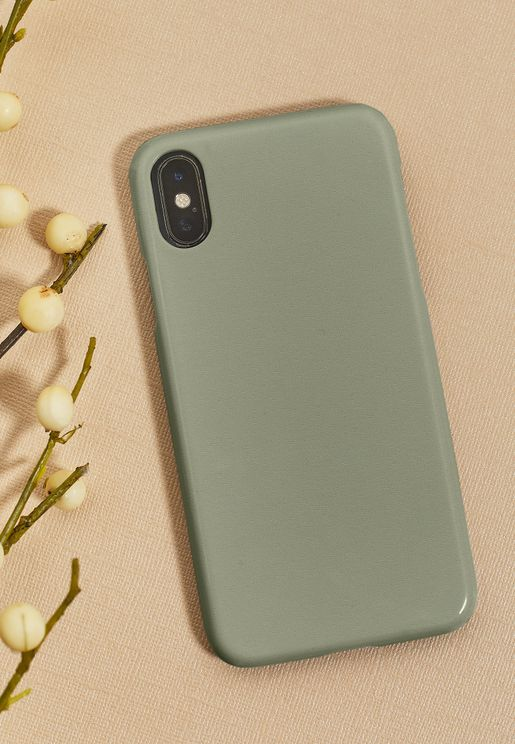 Block Grey iPhone 7/8/X/XS/XS Max/XR/11 Pro Case