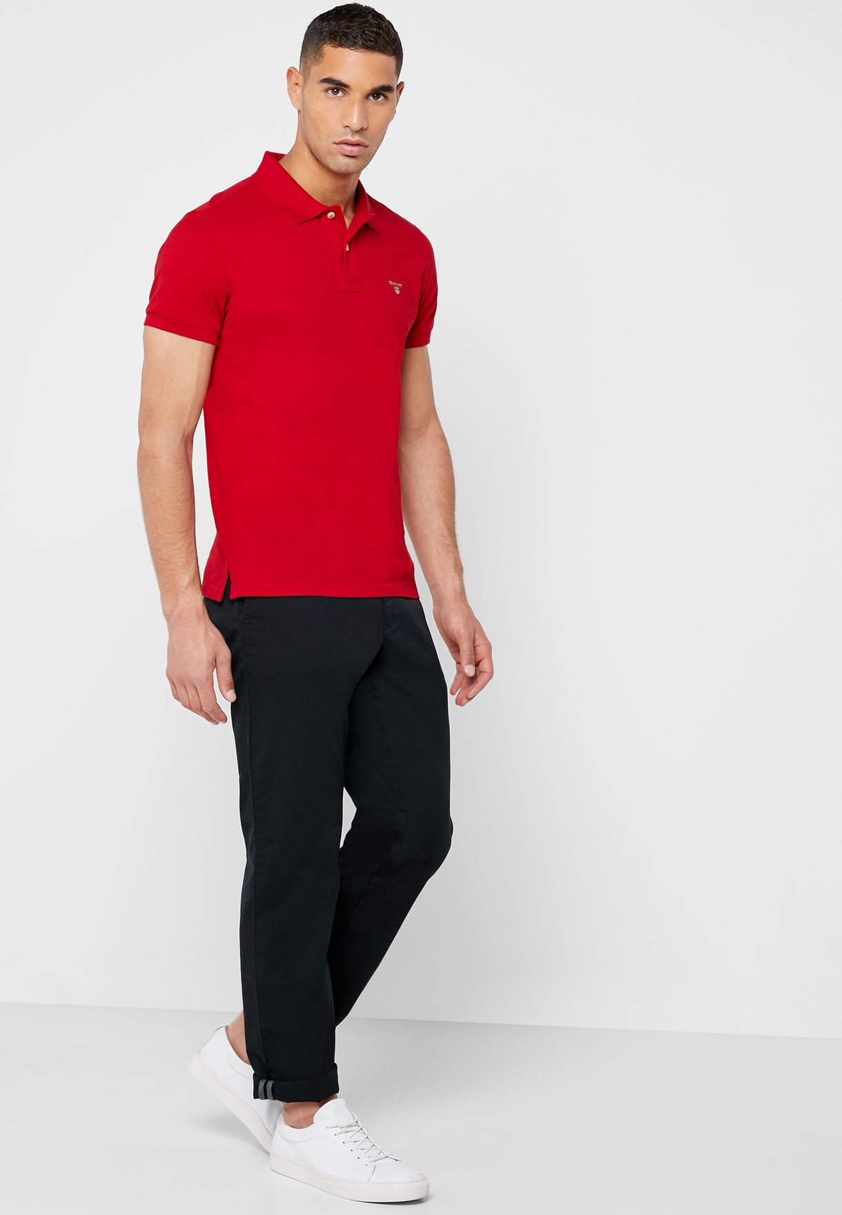 Twill Straight Fit Chinos