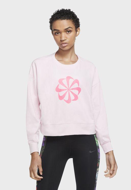 Icon Clash Dri-FIT Fleece Sweatshirt
