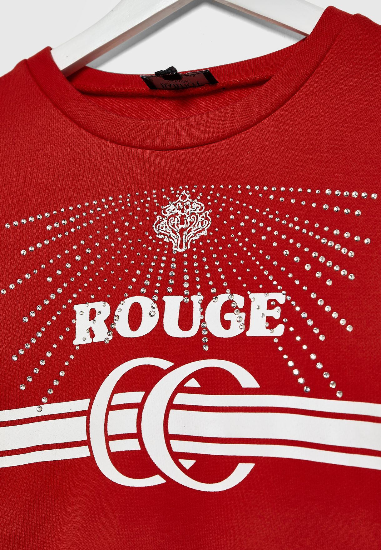 Little Shine Rouge Sweatshirt