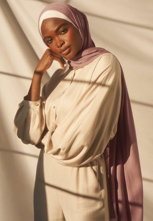 Bamboo Woven Hijab