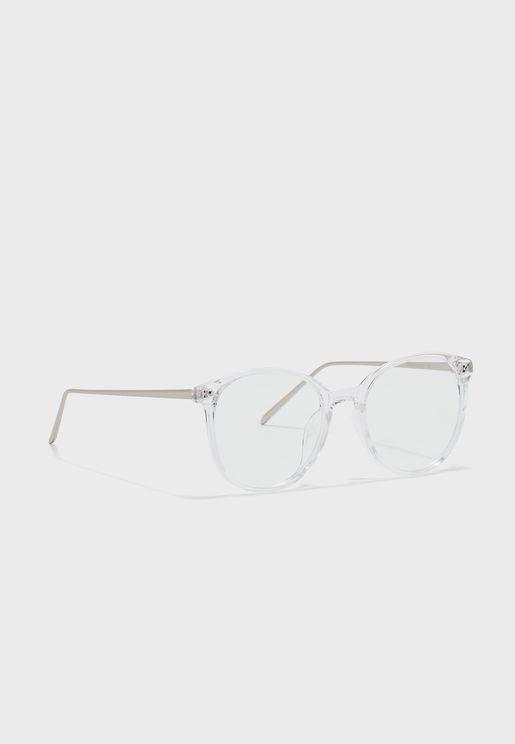 Metal Arm Wayfarer Sunglasses