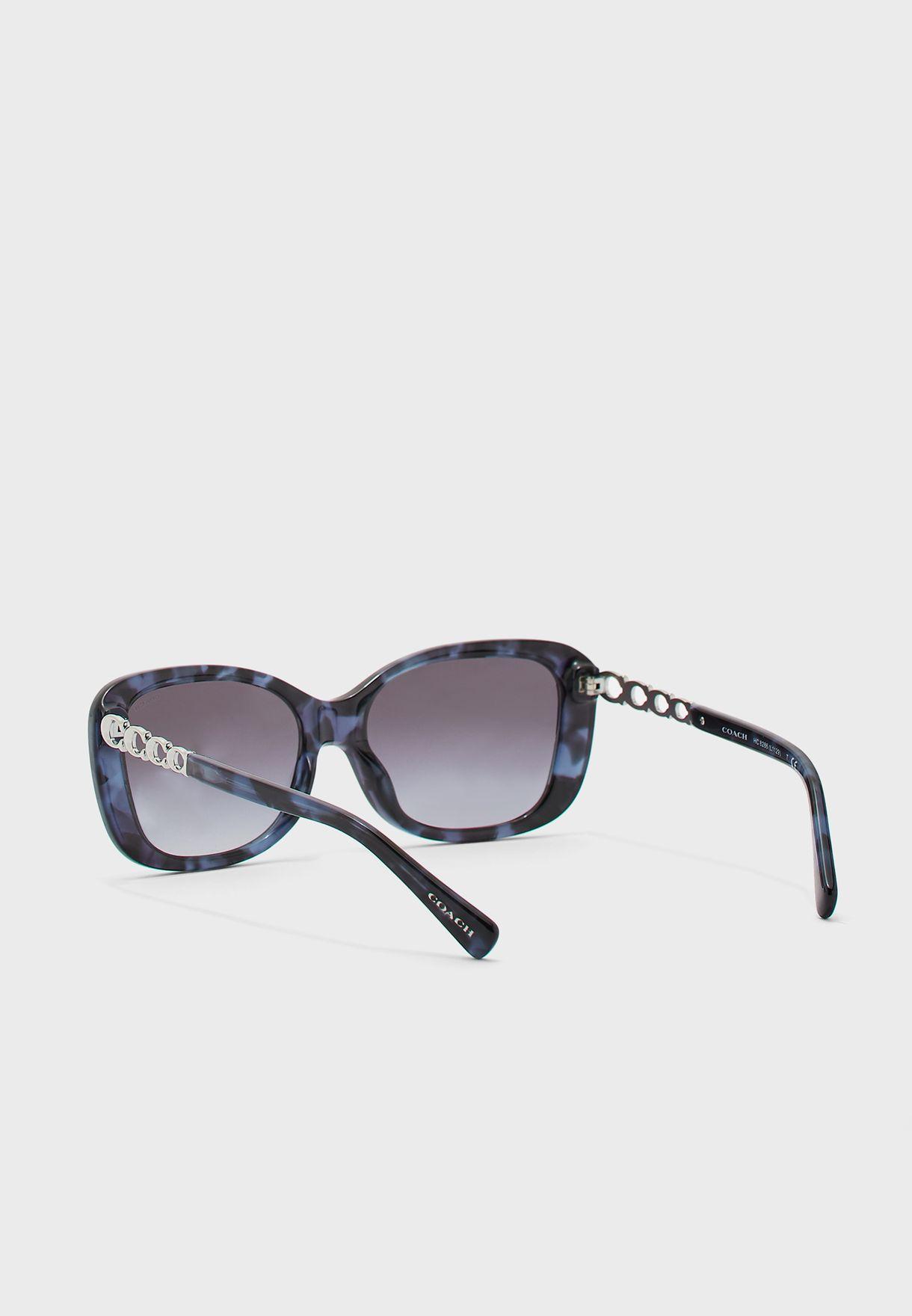 0HC8286 Oversize Sunglasses