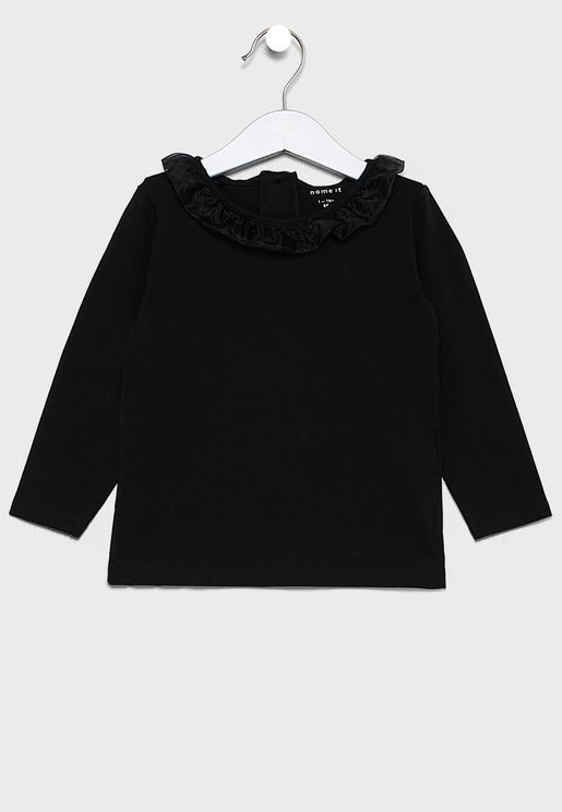 Kids Neck Detail Top