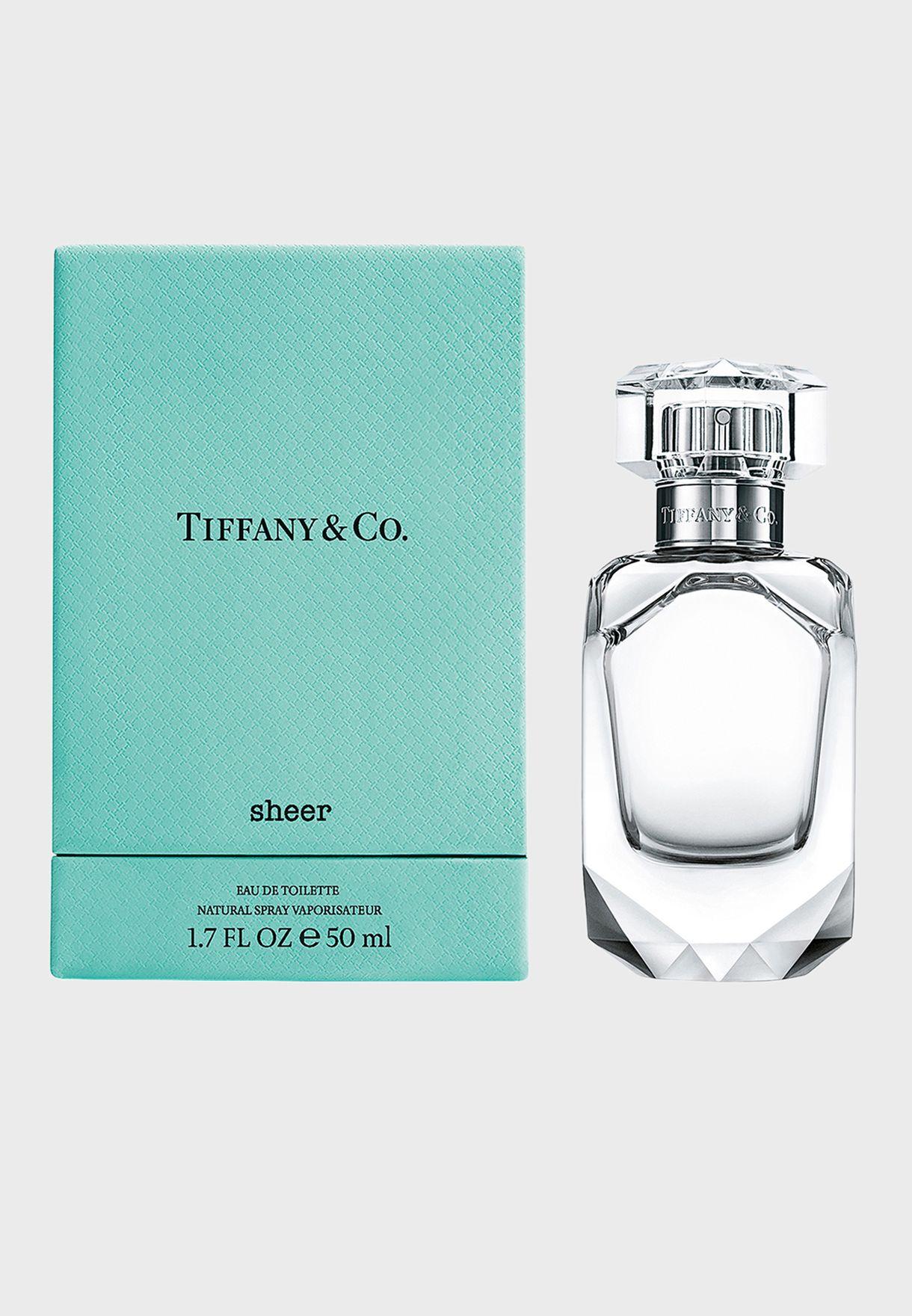 Tiffany Sheer Edt 50ml