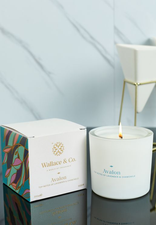 Lavender & Chamomile Avalon Scented Candle 200 ml