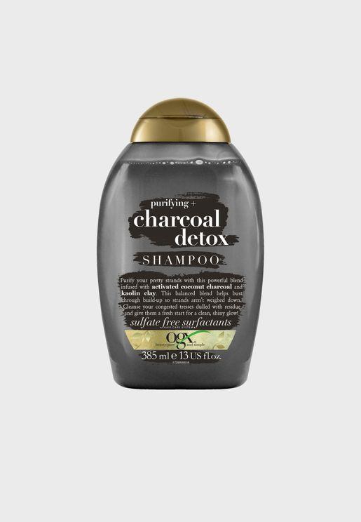 شامبو ديتوكس بالفحم لنقاء الشعر - 385 مل