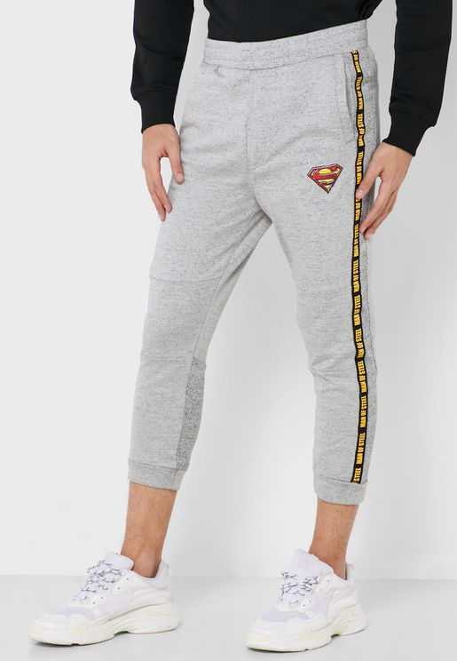 Superman Side Stripe Sweatpants