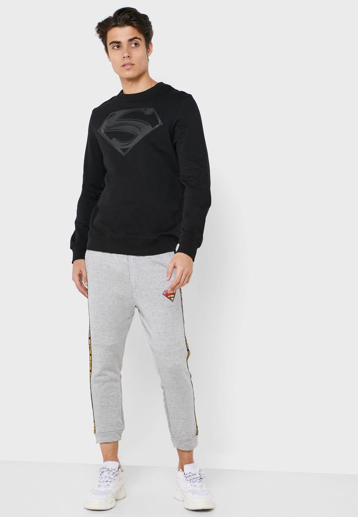 Superman Side Stripe Sweatpants