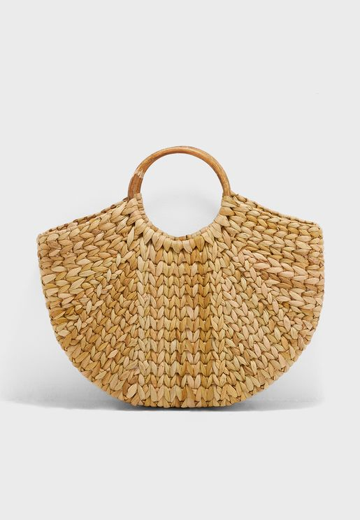 Kenna Straw Beach  Shopper