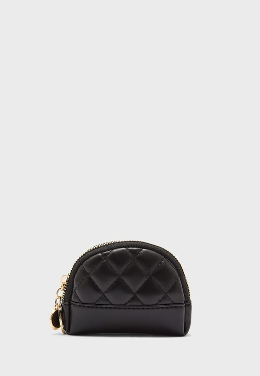 Quilted Zipped Purse