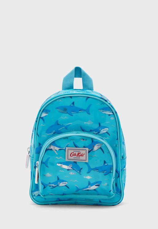 Kids Mini Shark Backpack