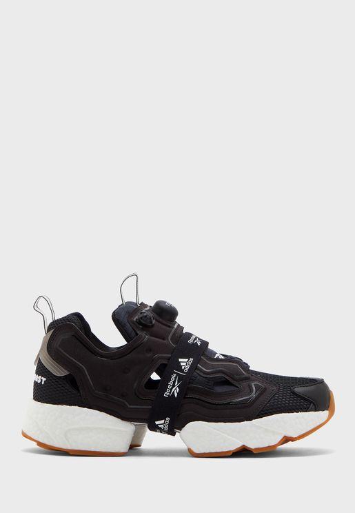 حذاء انستابامب فيوري بوست اديداس × ريبوك