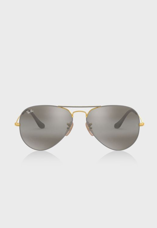 e86a39f8fb3 0RB3025 Aviator Sunglasses