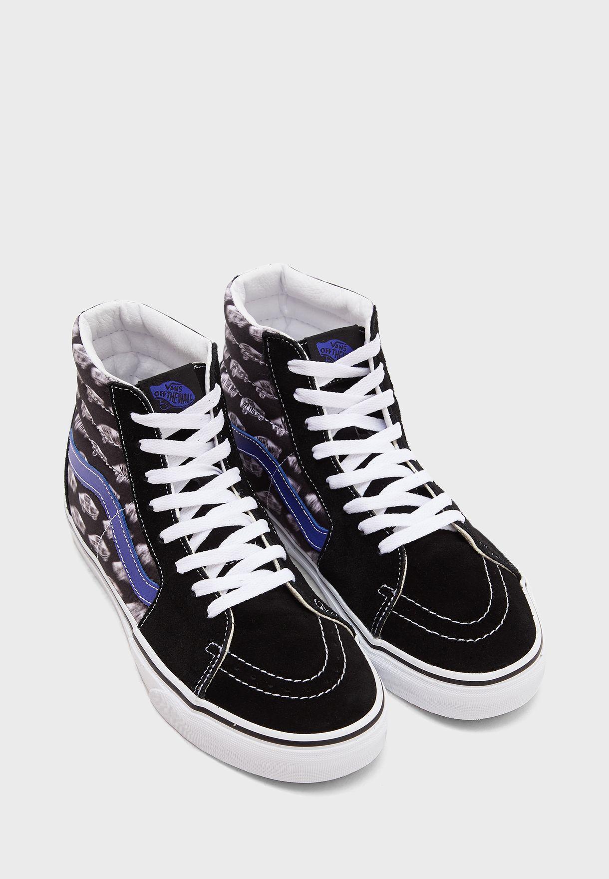 حذاء بكاحل مرتفع