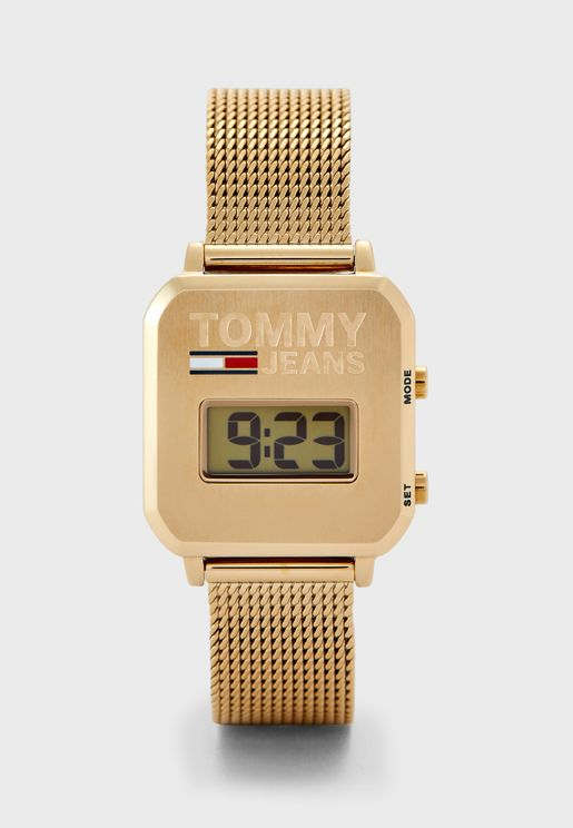 1782254 Mesh Strap Digital Watch