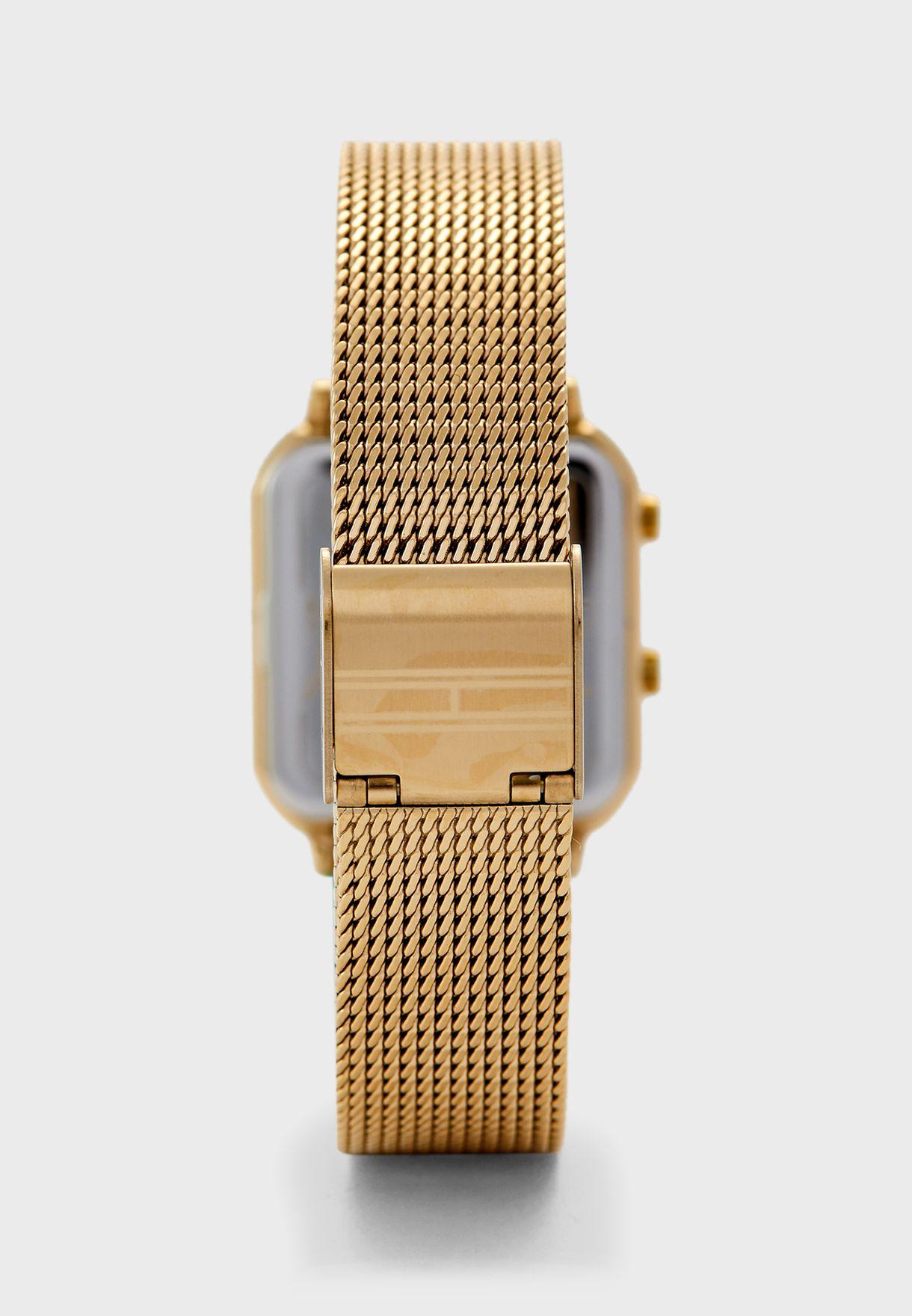 1782254 Mesh Strap Digital Watch