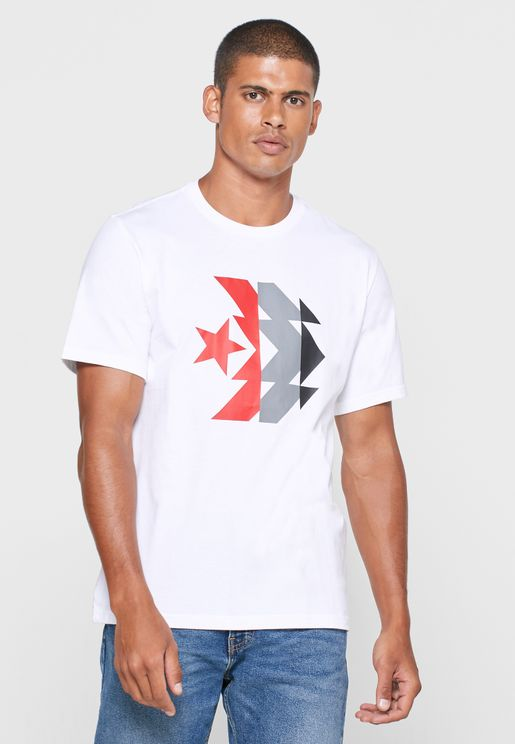 Kaleidoscope Star Chevron T-Shirt