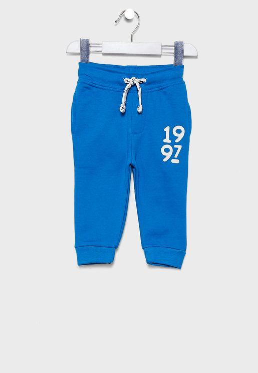 Little Cuffed Sweatpants