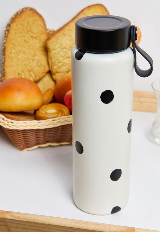 Polka Dot Drink Bottle