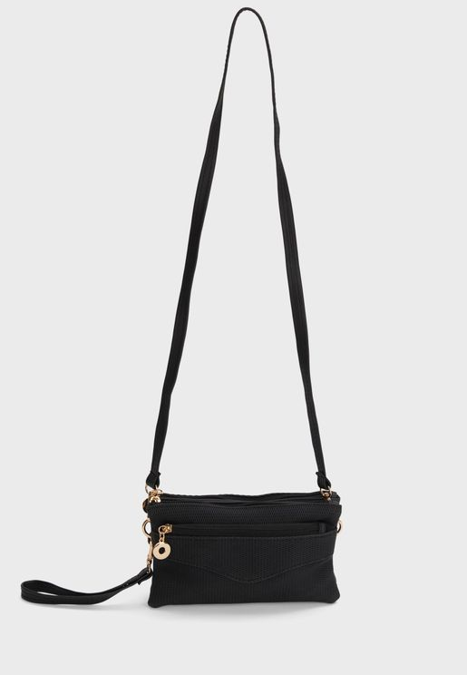 zip through crossbody