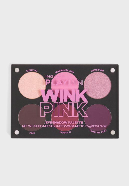 Playinn Wink Eyeshadow Palette Pink