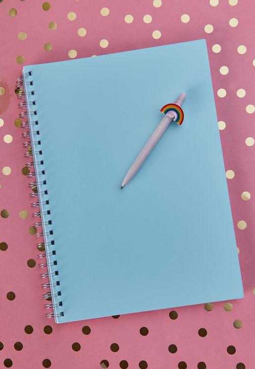 دفتر قصاصات حلزوني