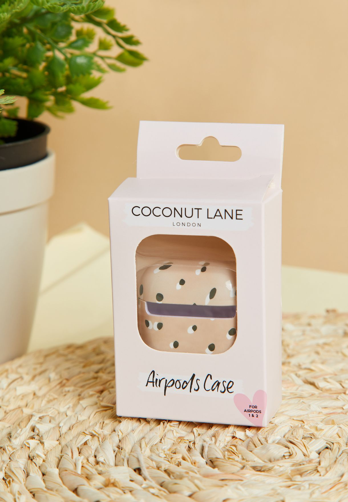Nude Spots Airpods Case