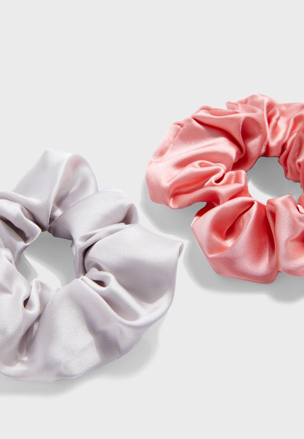 Scrunchie hair tie set