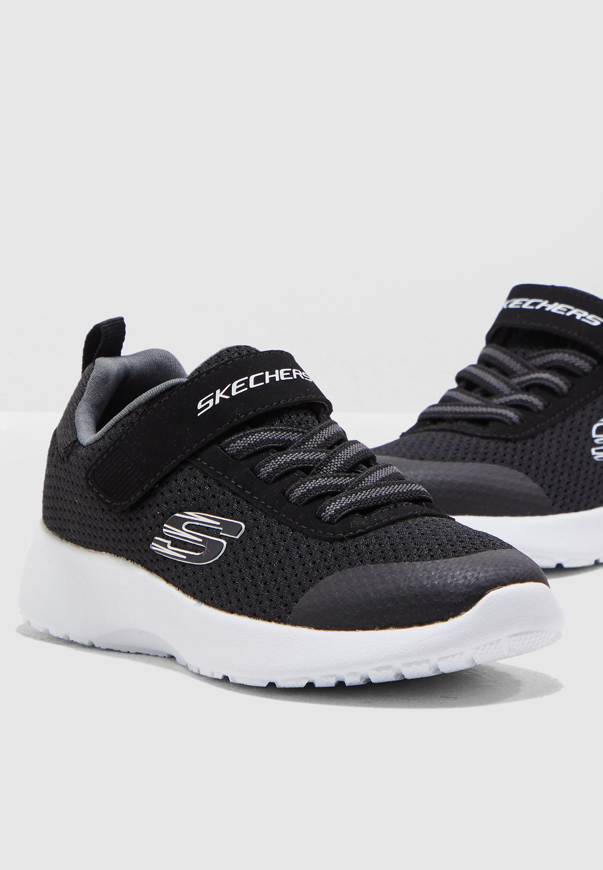 a8a97ce995c Shop Skechers black Kids Dynamight - Ultra Torque 97770L-BKW for ...
