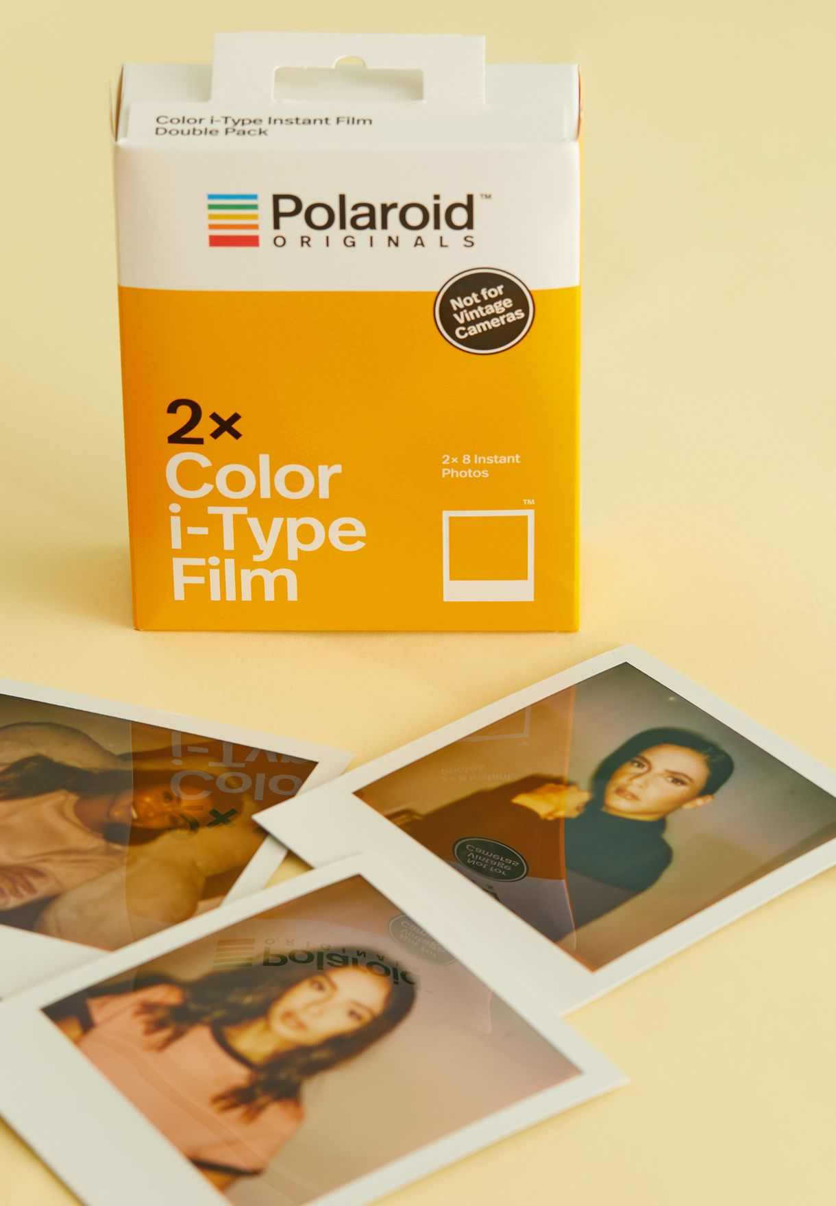 Color Film Double Pack for One Step 2