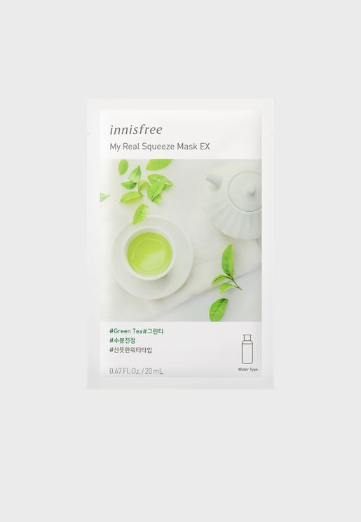 My Real Squeeze Mask [Green Tea] 20ml