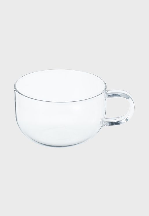 Heat Proof Glass Teacup