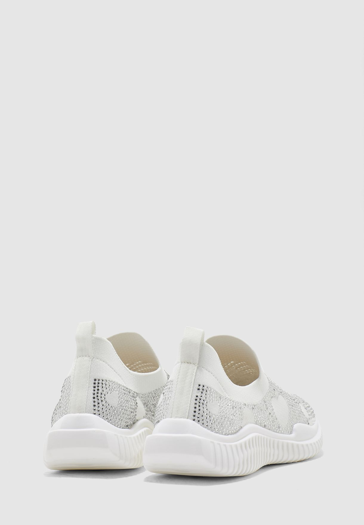 Mesh Detail Slip On