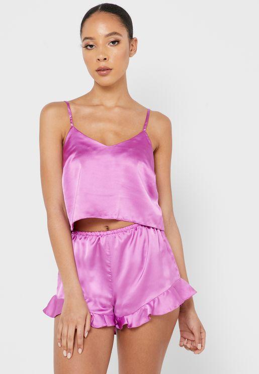 Cami Top & Pyjama Set