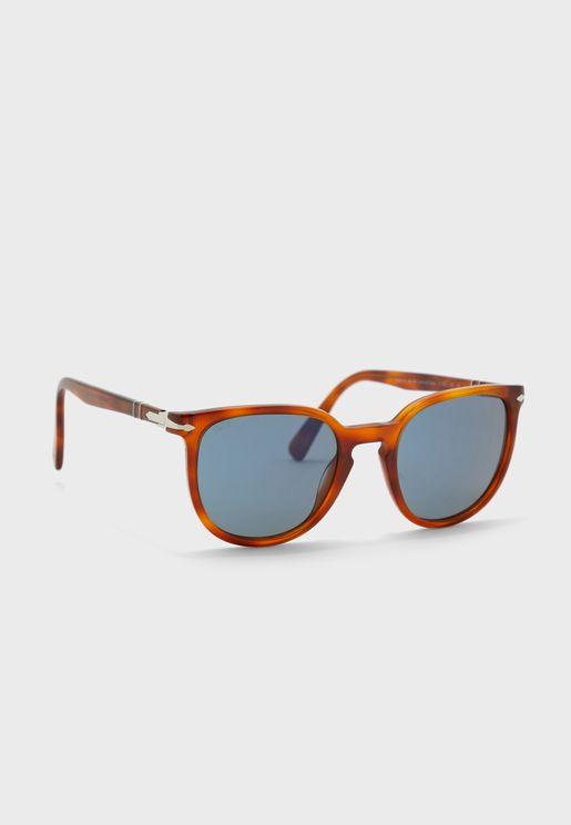 نظارة شمسية بعدسات مربعة 96/56