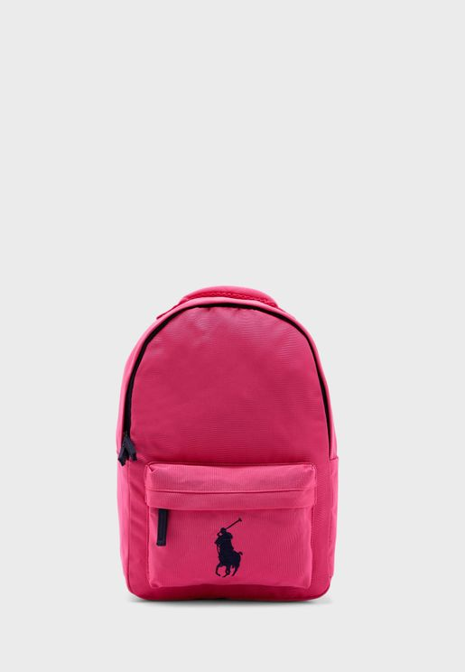 Front Zip Pocket Backpack
