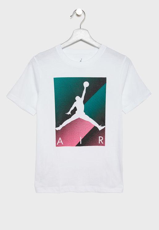 Youth Jordan Box Spray T-Shirt