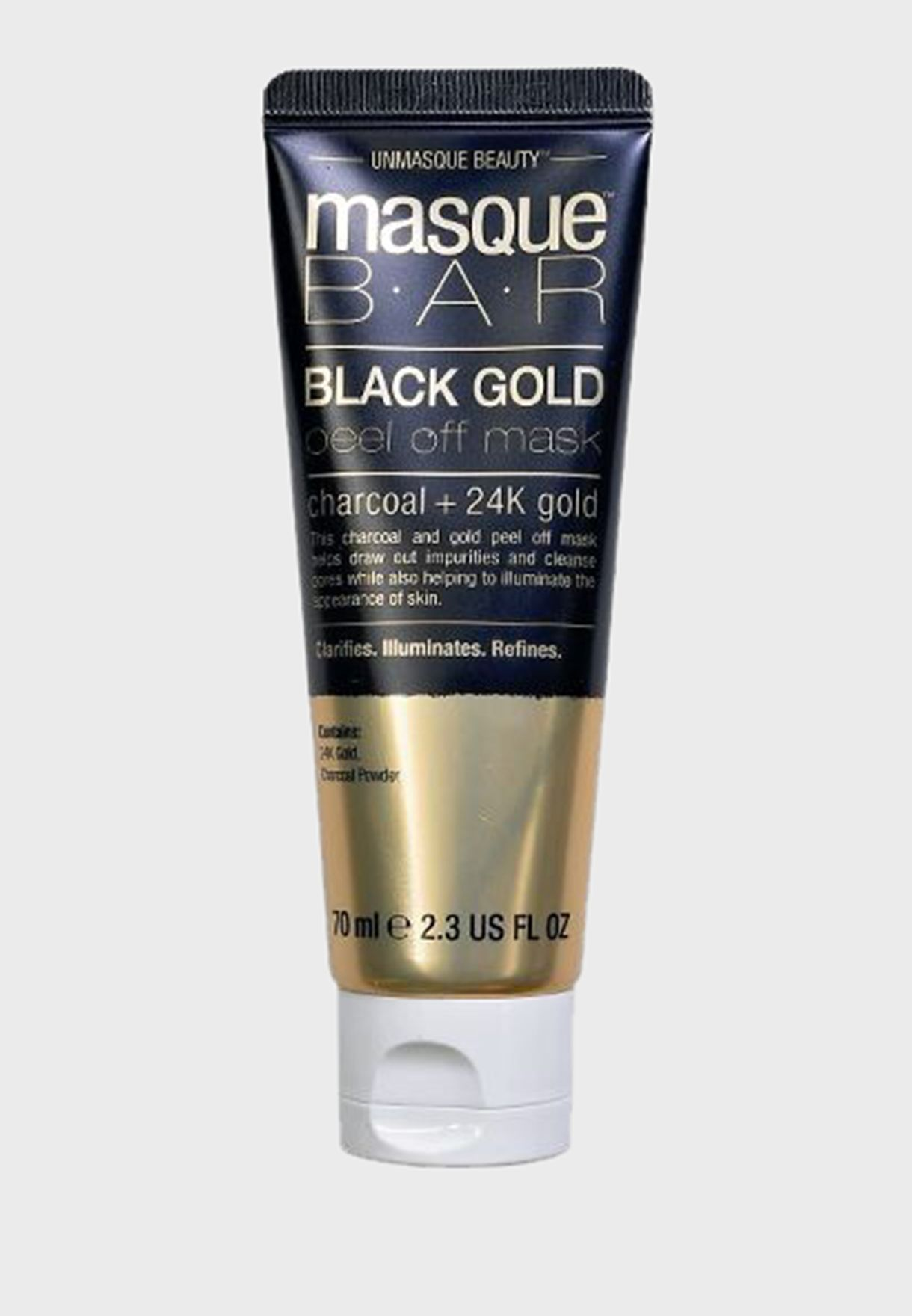 Black Gold Peel Off Mask Tube 70ml