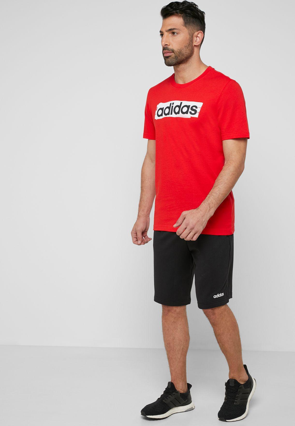 adidas shorts t shirt