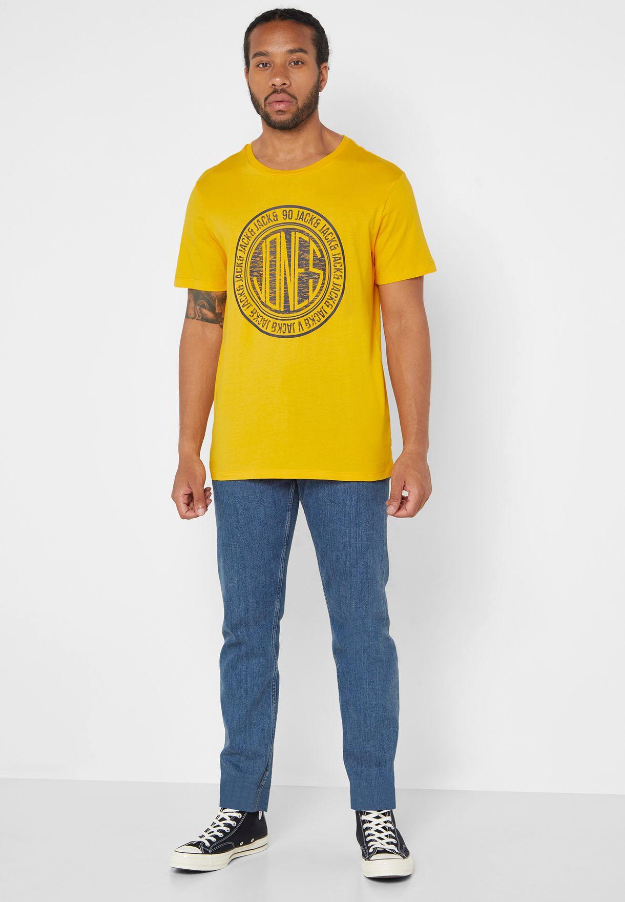 Splash Core Logo Crew Neck T-Shirt