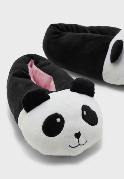 Panda Bedroom Slip On