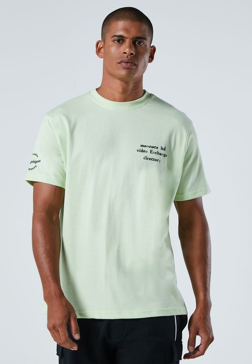 Video Exchange Crew Neck T-Shirt